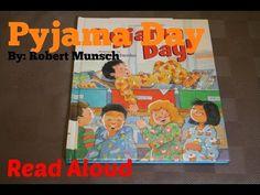 Pyjama Day by Robert Munsch | Kids Books Read Along - YouTube
