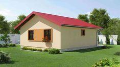 proiecte de case de 60-70 mp 60-70 square meter house plans 3 Tiny House, Shed, Outdoor Structures, House Design, Modern, Mica, Couple, Arquitetura, Contemporary Home Design