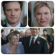 """Bridget & Mark """"The edge of reason"""" Bridget Jones Movies, Bridget Jones Baby, Mr Darcy, Renee Zellweger, Colin Firth, Kingsman, Actresses, Actors, Celebrities"""
