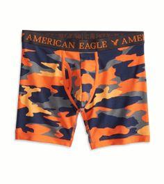 American Eagle Orange Camo Sport Boxer