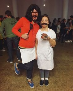 Bob and Linda Belcher.  Others: patty & Doug funnie, woody and Jessie...