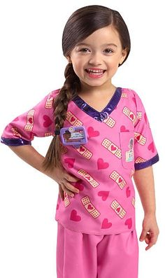 The Doc McStuffins Dress Up Scrubs for just The list price is Ships FREE with Prime or Super Saver. This one has been hard to find! It's back in stock AND the price is down! Doc`s iconic look is getting an update with a . Doc Mcstuffins Toys, Doctor Scrubs, Childrens Fancy Dress, Mighty Girl, Princess Toys, Thing 1, Diy For Kids, Dress Up, Costumes
