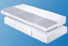 MY?HOME: »First Class«-7-Zonen-Komfortschaummatratze (baugleich f.a.n. Climasan Luxus KS)! ALLE GRÖSSEN UND HÄRTEGRADE = 1 PREIS! Spitzen-Liegekomfort zum absoluten Top-Preis. Diese qualitativ hochwertige 7-Zonen-Komfortschaummatratze ist sowohl als Einzelmatratze als auch im Spar-Set* zum gleichen Preis erhältlich (*2. Matratze: dieselbe Matratze in der gleichen Größe und dem gleichen Härtegra...