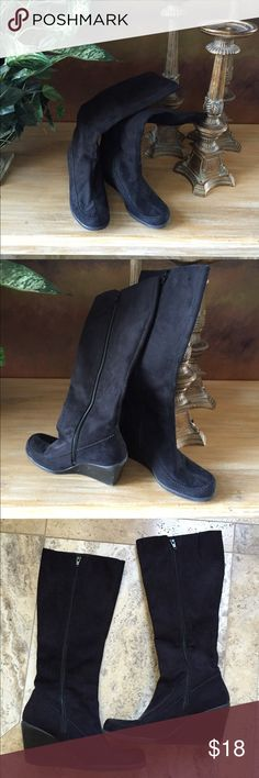 b33e3a239e1 Black Boots Black boots from target in great condition