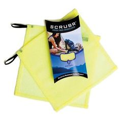 Lunatec Scrubr® Dishcloth 2-pack , These things are great, dry super quick and clean easily. Check out the washcloths also, go for the large one since the small one can by difficult to keep a grip on.