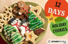 12 Days of Holiday Cookies via @SparkPeople