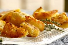 Herb roasted potatoes- had these tonight at a friend's house.  They were soooo yummy!!!!