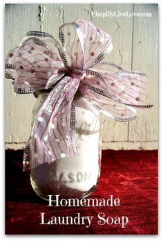 10 easy & frugal homemade gift ideas for anyone on your list. Make your own gifts for everyone with this list from everywhere on the internet.