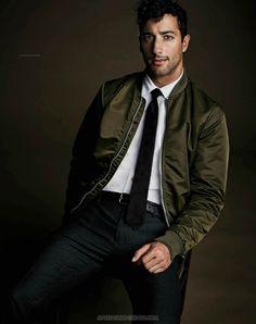 Daniel Ricciardo para Men's Style Australia por Greg Lewis