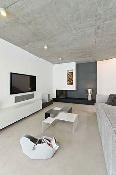 My Creative, Interior :: 노출콘크리트와 노출콘크리트 인테리어! 프라하 리빙 인테리어의 멋