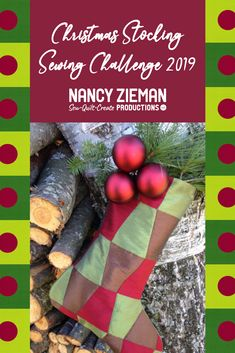 The Christmas Stocking Sewing Challenge 2019 hosted by Nancy Zieman Productions starts now! We are proud sponsors of this year's Christmas Stocking Sewing Challenge. Education Journals, Art Education, Nancy Zieman, Flower Quilts, Log Cabin Quilts, Landscape Quilts, Collaborative Art, Flying Geese, Quilt Kits