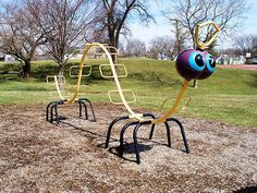 We had one of these in Young's Field in New Milford, Ct. I used to sit on its head. lol