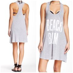 "Wilfox """"Beach Bum"""" Tank Dress"