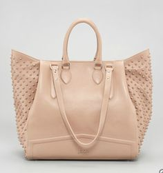Celebrate Handbags: Christian Louboutin Justine Spike Tote