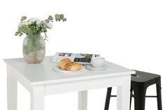 Vienna Baaripöytä - Valkoinen | Kodin1.com
