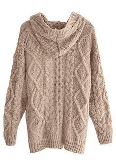 MARINA YACHTING Pullover Herren Khaki 80% Wolle, 20