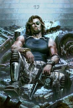 Snake Plissken by Fabian Schlaga for Sideshow Collectibles