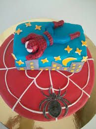 torta marshmallows spiderman - Cerca con Google