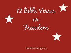 12 Bible Verses on Freedom