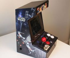 Bartop Mini Retro Arcade - Raspberry Pi and Customised Icade