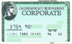 American Express Corporate NO (DnB Kort AS, Norway) Col:NO-AE-0001