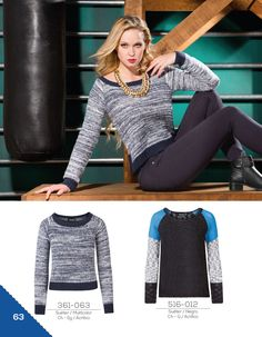 Black basics - Bloques de color - knitting