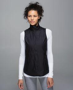 Lululemon The Best Vest Jacket - Black - lulu fanatics Lululemon Athletica, We Wear, How To Wear, Athletic Outfits, Lightweight Jacket, Outerwear Women, Vest Jacket, Active Wear