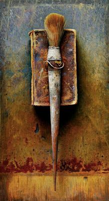 Art Propelled: TOOLS OF THE TRADE -- Art History. Oil painting by John Whalley