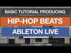 Making Hip Hop Beats in Ableton Live Tutorial Rap RnB Black Old School DRE Style Walkthrough - YouTube