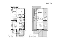 Coho Cottage | Ross Chapin Architects, v. B 1168 sq ft 2 bed, 1.75 bath