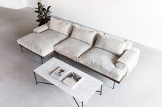 Sofa by Croft House. Croft House is a manufacturer and retailer of handmade, restored furniture.