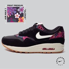 #airmax #printpremium #gs #sneakerbaas #baasbovenbaas  Nike Air Max 1 Print Premium ( Gs )- Nike did surprise us with a fresh colorway, just like the Aloha Pack that where released at Sneakerbaas. The floral accents are smoothly placed on the heel tab and around the eyelets.  Now online available | Priced at 139.95 EU | Wmns Sizes 35.5 - 44.5 EU