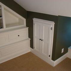 Dress up attic access door