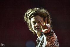 #1DGR | O Harry στη συναυλία στο Amsterdam, χθες
