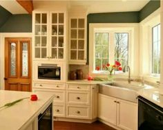 Corner Farmhouse Sink corner farmhouse sinks | corner sink and beautiful joinery
