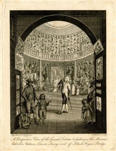 """Regency Hot Spots: The Leverian Museum, via Regency Reader. Described by a 1803 guidebook as """"the completest and most interesting collection of natural curiosities in the metropolis,"""" the Leverian Museum (or Museum Leverianum) was the result of a collectio..."""