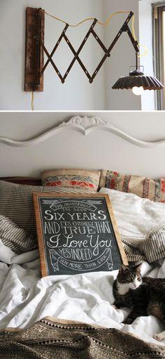 Love the concertina light, from Ariel Alasko's home on @sfgirlbybay / victoria smith / victoria smith / victoria smith *