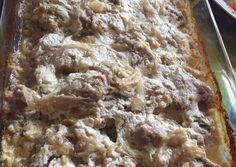 Az abbahagyhatatlan tejfölös-hagymás csirke recept foto Ale, Desserts, Fimo, Tailgate Desserts, Deserts, Ales, Postres, Dessert, Plated Desserts