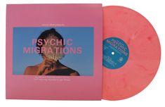 V/A - Psychic Migrations - Psychic Migrations Original Soundtrack Vinyl Cover, Cover Art, Cd Design, Graphic Design, Album Cover Design, Vinyl Designs, Visual Identity, Album Covers, Screen Printing