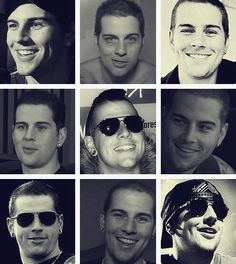 M Shadows, I love him because of is voice duh... And those aviators. And tattoos. And that smile. And that body. And his sense of humor. And that VOICE. But what really catches my eye is his SMILE!