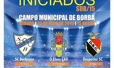 Futebol/Formação: SC Borbense promove Torneio dos Campeões em Iniciados