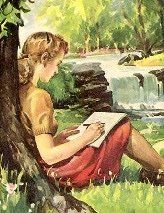 """Letter writing is the only device combining solitude with good company."" ~ Lord Byron"