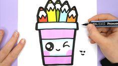 drawings pencil easy draw happy pot drawing teken hoe je cartoon potloden potje een voorbeelden toegevoegd nieuwe aan kinderfilmpjes sketches