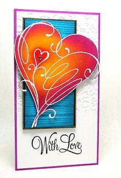 With Love by Elizabeth Allan's Art Studio, Penny Black