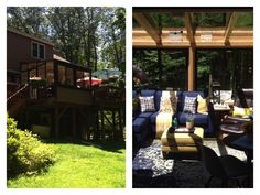 Brady-Built Sunrooms are quality, factory-built sunroom additions made in Auburn, MA factory. We custom design and construct sunrooms, solariums, conservatories and orangeries. Four Seasons Room, Sunroom Addition, Exterior Stairs, Backyard, Patio, Sunrooms, Garden Styles, Custom Design, Deck