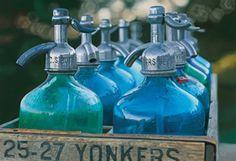 retro seltzer bottles