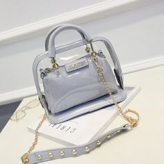 Cheap bag show, Buy Quality bag print directly from China beach wedding favor bags Suppliers: 2016 New Fashion Punk Style Women's Bags Rivet Handbags Shoulder Messenger Bags Envelope Clutches Purse Top Quality Supe