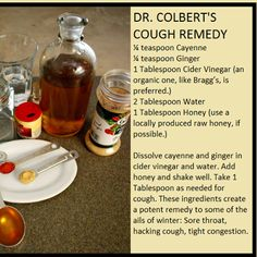 17 June:Cough remedy. After non-stop coughing I turned to Pinterest and found…