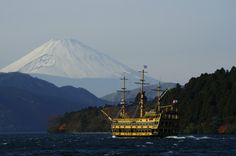 hakone. we were on this ship!