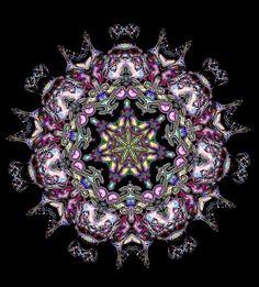 kaleidoscope 7a by SelenaAnne, via Flickr